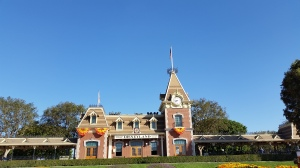 Disneyland's Entrance