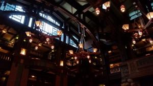 Grand Californian resort lobby