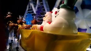 Frosty and Santa at Ice!