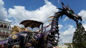 Festival of Fantasy parade dragon