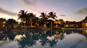Sandals Whitehouse at dusk