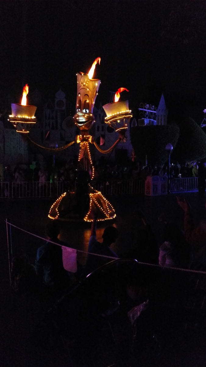 Lumiere during Paint the Night