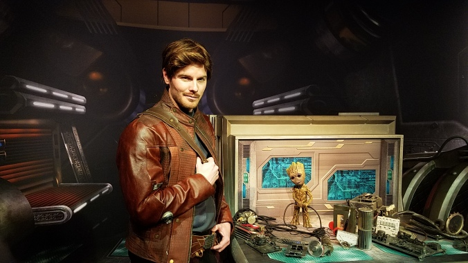 Star-Lord and Groot