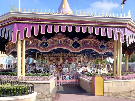The Carrousel in Magic Kingdom