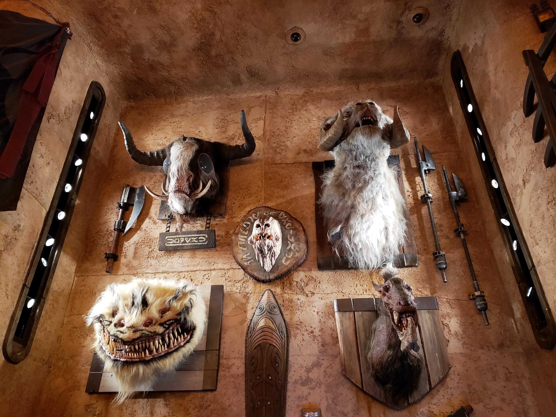 Dok Ondars mounted creatures