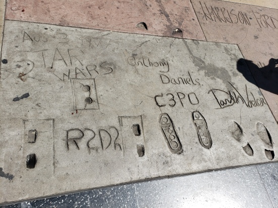 Footprints of Star Wars
