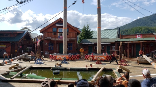The Great Alaskan Lumberjack Show